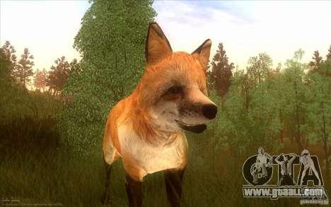 Wild Life Mod 0.1b for GTA San Andreas forth screenshot