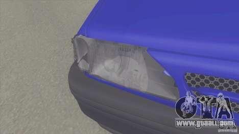Kia Pride 131 SX for GTA San Andreas right view