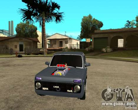 NIVA Mustang for GTA San Andreas back view