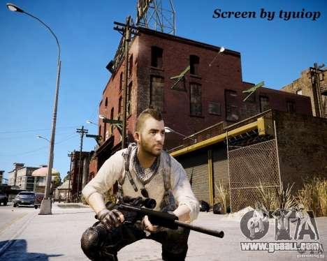 Modern Warfare 3 Soap Africa for GTA 4 third screenshot