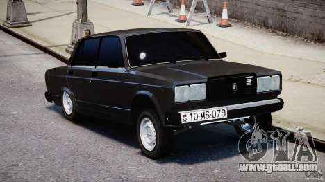 Vaz-2107 Avtosh style for GTA 4 right view