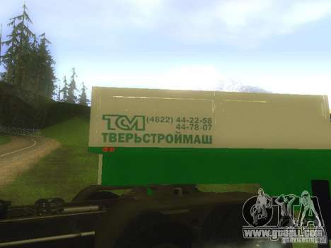 TCM trailer-993910 for GTA San Andreas inner view