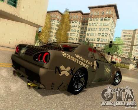 Elegy Drift Korch for GTA San Andreas wheels