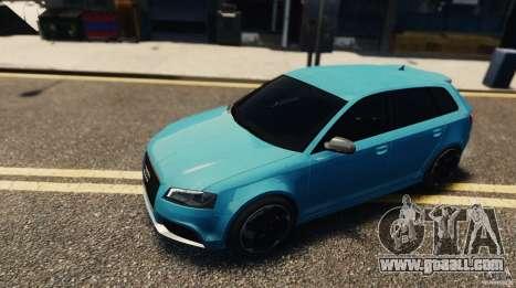 Audi RS3 Sportback V1.0 for GTA 4 back left view