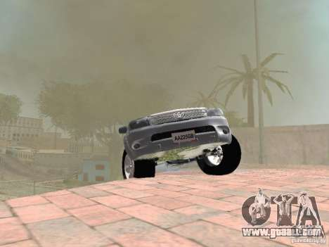 Toyota Hilux for GTA San Andreas side view