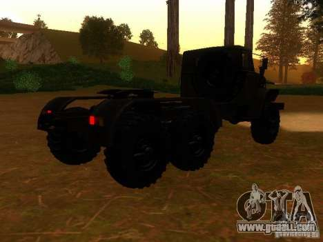 Ural-4420 tractor for GTA San Andreas right view