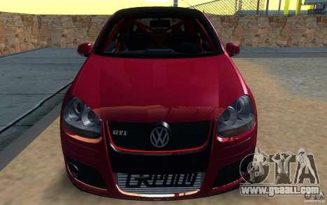 VolksWagen Golf GTI MK5 for GTA San Andreas back left view