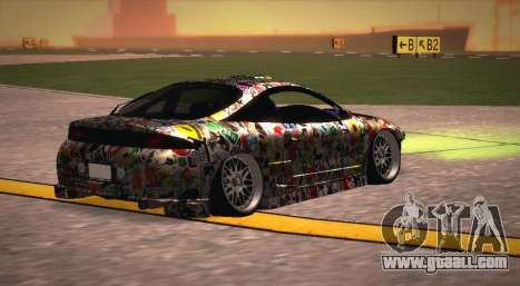 Mitsubishi Eclipse 1997 Drift for GTA San Andreas left view
