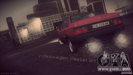 Volkswagen Passat B3 v2 for GTA San Andreas left view