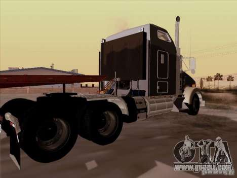 Kenworth T800 for GTA San Andreas right view
