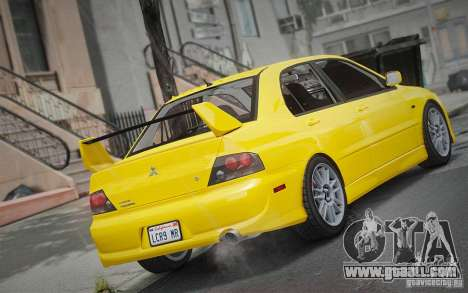 Mitsubishi Lancer Evolution IX MR 2006 for GTA 4 left view