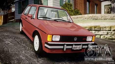 Volkswagen Rabbit 1986 for GTA 4