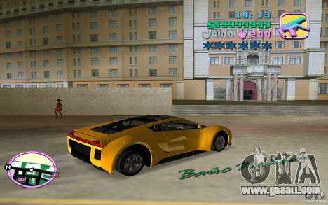 Saleen S5S Raptor for GTA Vice City left view