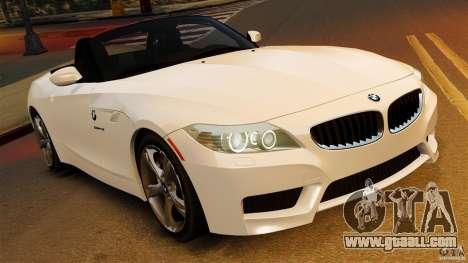 BMW Z4 sDrive 28is 2012 v2.0 for GTA 4