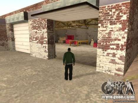 Activation of unused garages for GTA San Andreas second screenshot