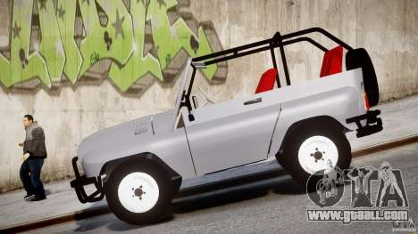 UAZ-3150 for GTA 4 side view