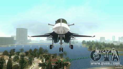 Vice City Air Force for GTA Vice City left view
