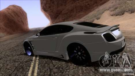 Bentley Continental GT Premier 2008 V2.0 for GTA San Andreas engine