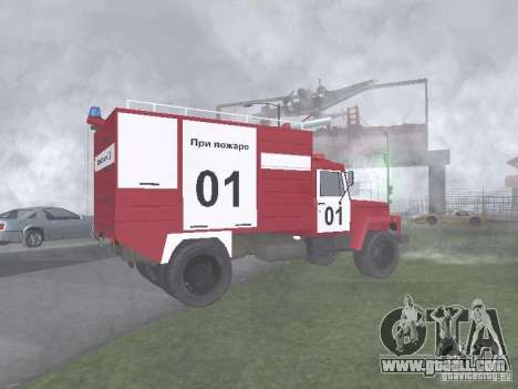 GAZ 3309 Fire for GTA San Andreas left view