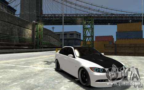 BMW 330i E60 Tuned 2 for GTA 4 back view