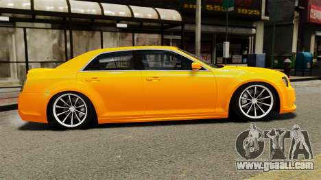 Chrysler 300 SRT8 LX 2012 for GTA 4 left view