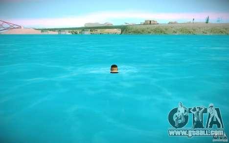 HD water for GTA San Andreas fifth screenshot