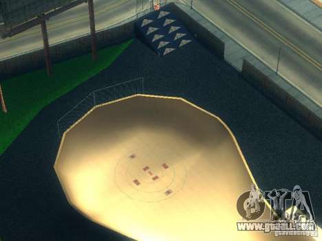 New BMX Park for GTA San Andreas third screenshot