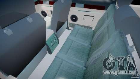 Lincoln Navigator 2004 for GTA 4 inner view