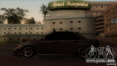 Subaru Impreza WRX STi for GTA San Andreas left view
