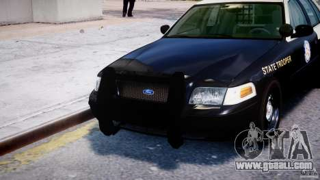 Ford Crown Victoria Florida Highway Patrol Units for GTA 4 interior