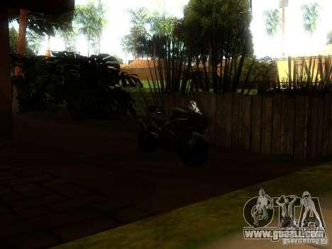 New Car in Grove Street for GTA San Andreas sixth screenshot