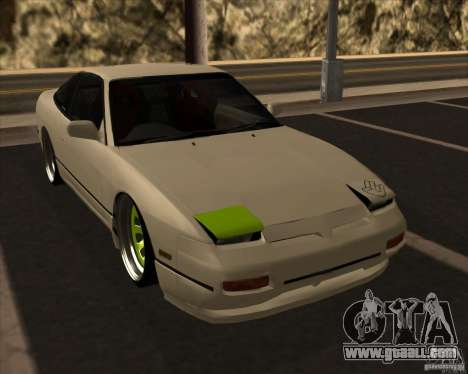 Nissan 180SX JDM for GTA San Andreas inner view