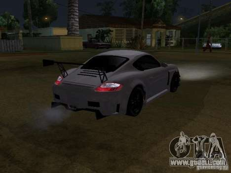 Porsche Cayman S NFS Shift for GTA San Andreas back left view