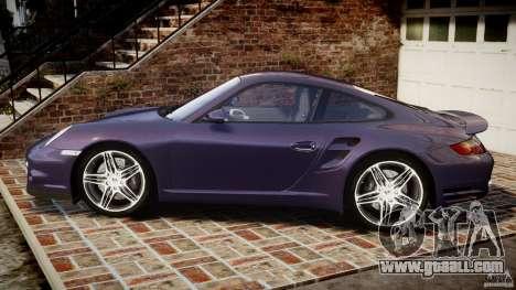 Porsche 911 (997) Turbo v1.1 [EPM] for GTA 4 left view