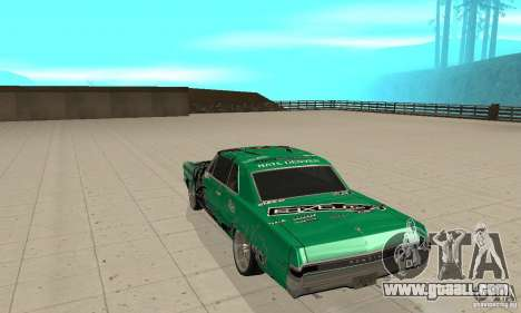 Pontiac GTO 1965 Speed King-NFS Pro Street for GTA San Andreas right view