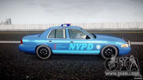 Ford Crown Victoria 2003 Noose v2.1 for GTA 4 back view