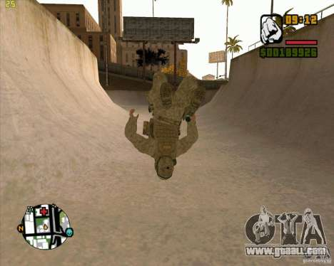 Parkour discipline beta 2 (full update by ACiD) for GTA San Andreas forth screenshot