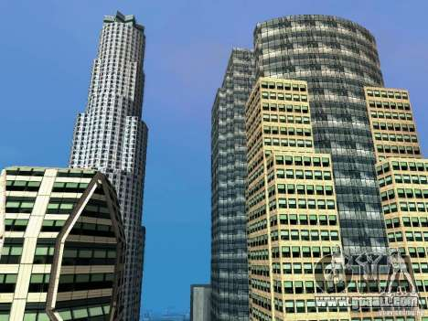 New Downtown skyscrapers texture for GTA San Andreas
