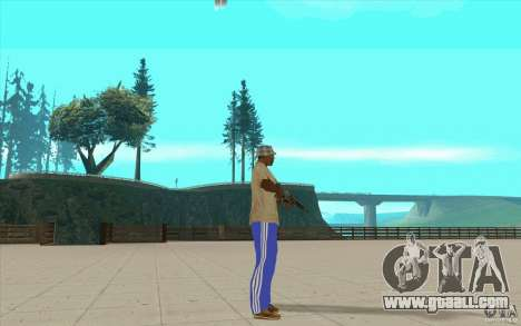 Pants adidas for GTA San Andreas third screenshot