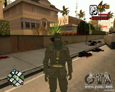 Ckin SAS for GTA San Andreas