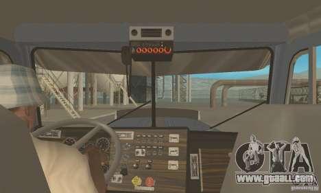 Peterbilt 379 Custom And Tanker Trailer for GTA San Andreas right view
