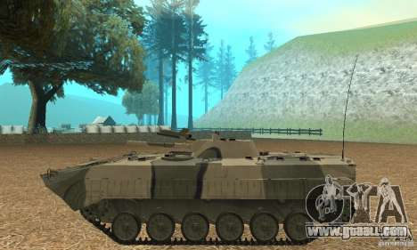 Bmp-1 Camo for GTA San Andreas left view