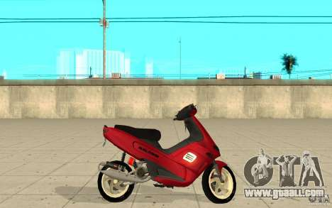 Gilera Runner 50SP Skin 5 for GTA San Andreas left view