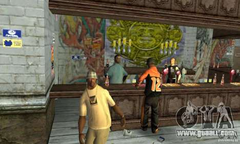 Drunk mod for GTA San Andreas third screenshot