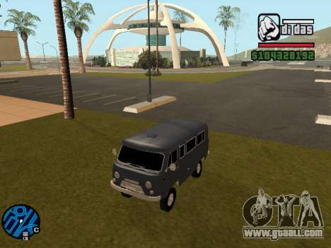 UAZ 2206 BPAN for GTA San Andreas back left view