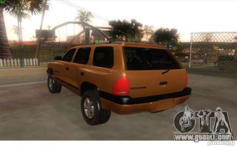 Dodge Durango 1998 for GTA San Andreas left view