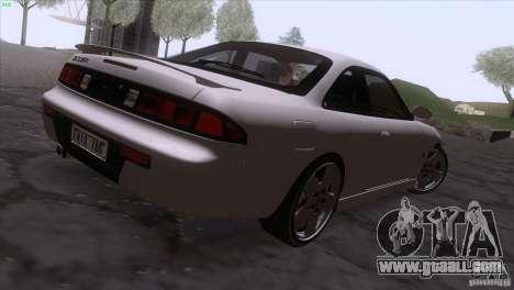 Nissan Silvia S14 Kouki for GTA San Andreas left view