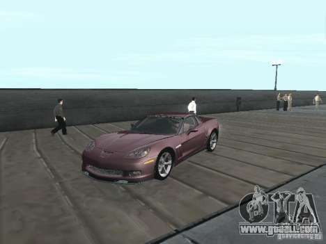 Chevrolet Corvette Grand Sport 2010 for GTA San Andreas