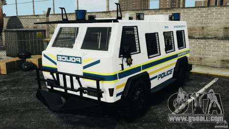 RG-12 Nyala - South African Police Service for GTA 4