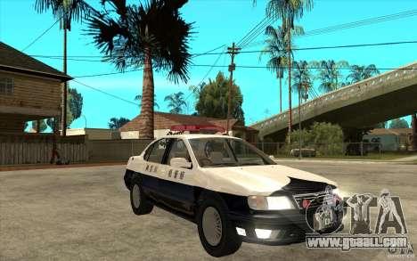 Nissan Cefiro A32 Kouki Japanese PoliceCar for GTA San Andreas upper view